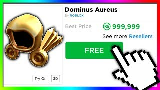roblox would give you ANY ITEM you want for FREE...