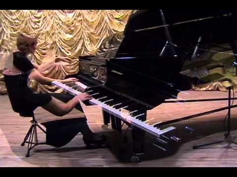 Yulia Shved plays Beethoven Sonate №17, Chopin Scherzo №1, Chopin Etude №23