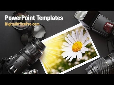 photography art powerpoint template backgrounds