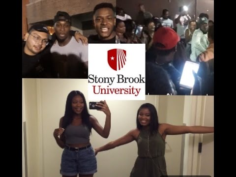 COLLEGE VLOG 1 |  DON'T DROP THE HENNY! | Stony Brook University
