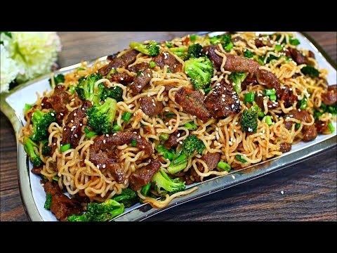 Beef And Broccoli Stir Fry Noodles Recipe - Easy Beef Stir Fry Noodles