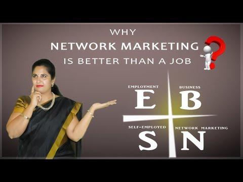 why network marketing is better than a job | network marketing benefits | vijaya lakshmi gbd