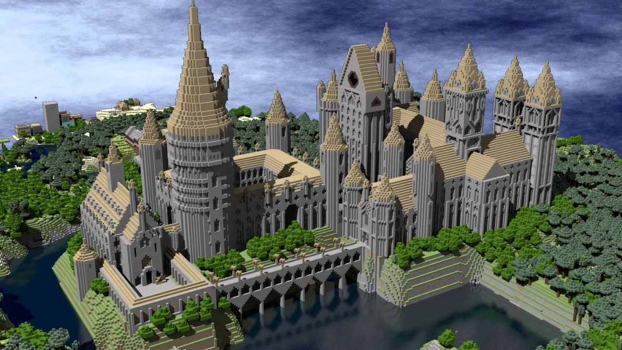 les plus belles constructions minecraft au monde youtube