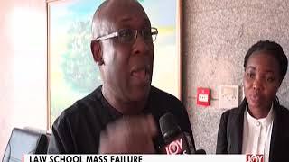 Law School Mass Failure - The Pulse on JoyNews (6-11-19)