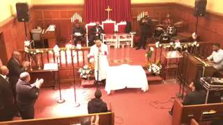 Pastor Torin Newsome.