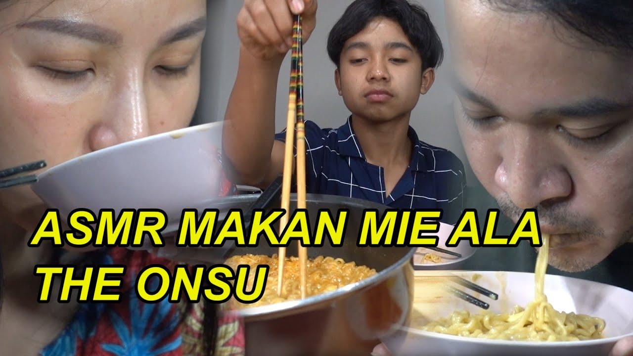 The Onsu Family - ASMR makan mie ala Theonsu