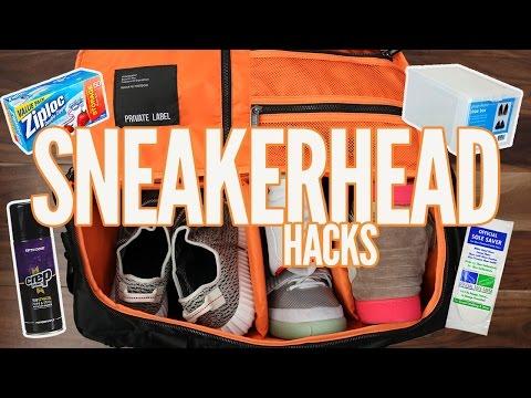 5 SNEAKERHEAD LIFE HACKS YOU NEED!!