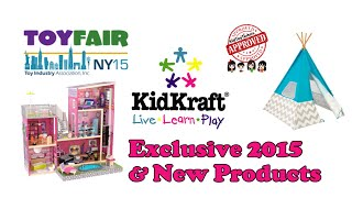 New York Toy Fair -  KIDKRAFT Exclusive Product Preview
