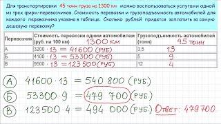 Задача 3 (В4) № 26672 ЕГЭ-2015 по математике. Урок 1