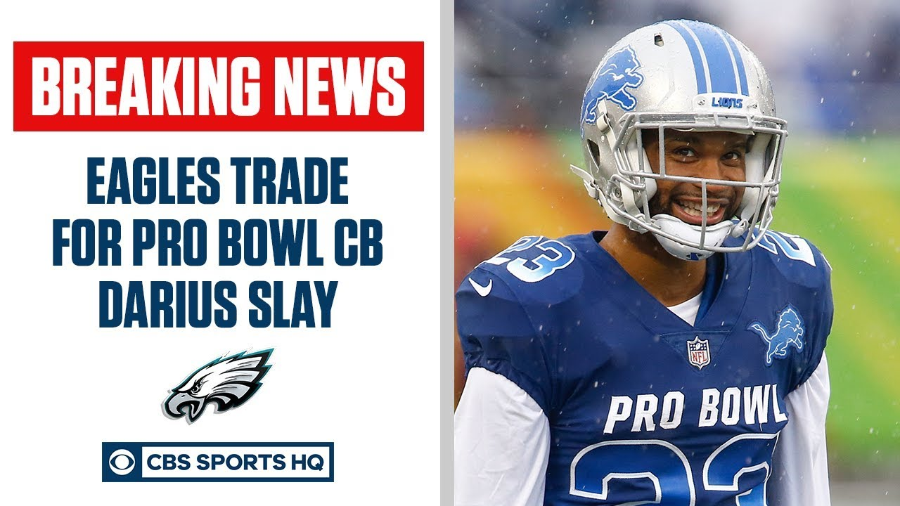 Eagles trade for cornerback Darius Slay, sign him to 3-year, $50 ...