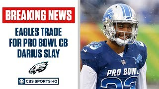 Eagles TRADE for Darius Slay, sign him to long-term deal | CBS Sports HQ