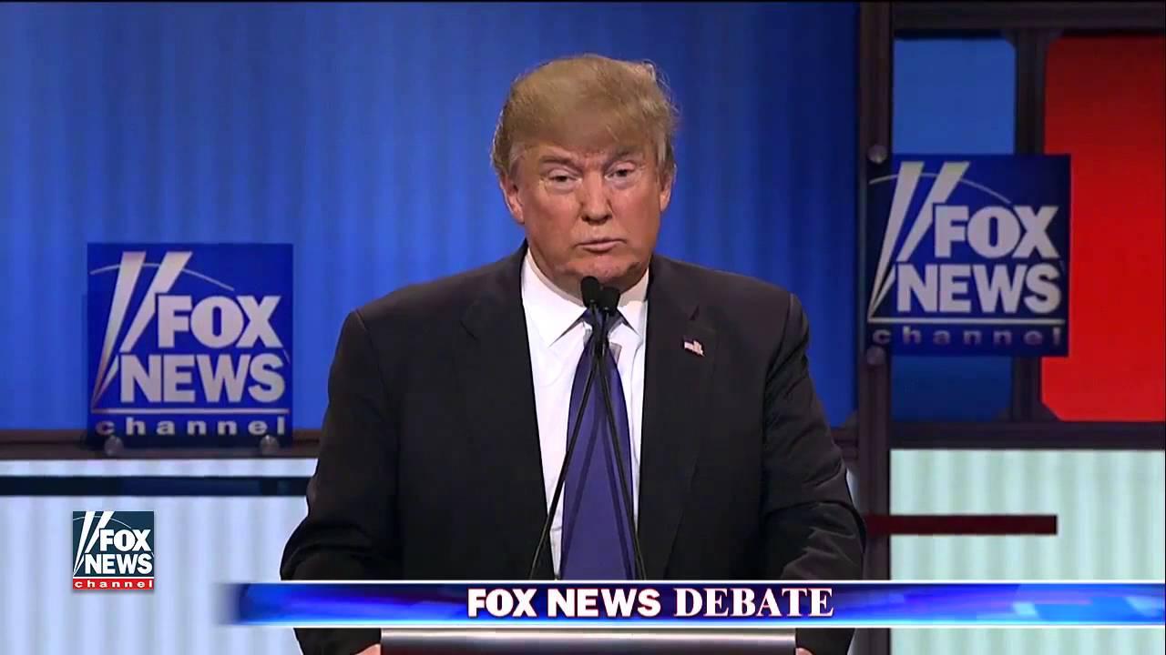Donald Trump bragging about big Penis at the debate vs Borat