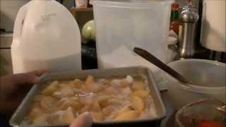 Homemade Peach Cobbler Using Whole Wheat Flour