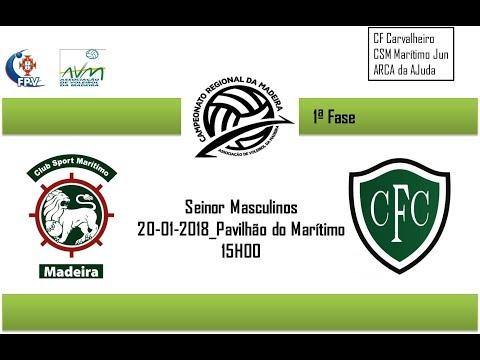 CS Marítimo Vs CF Carvalheiro (Sen-Masc) 20-01-2018