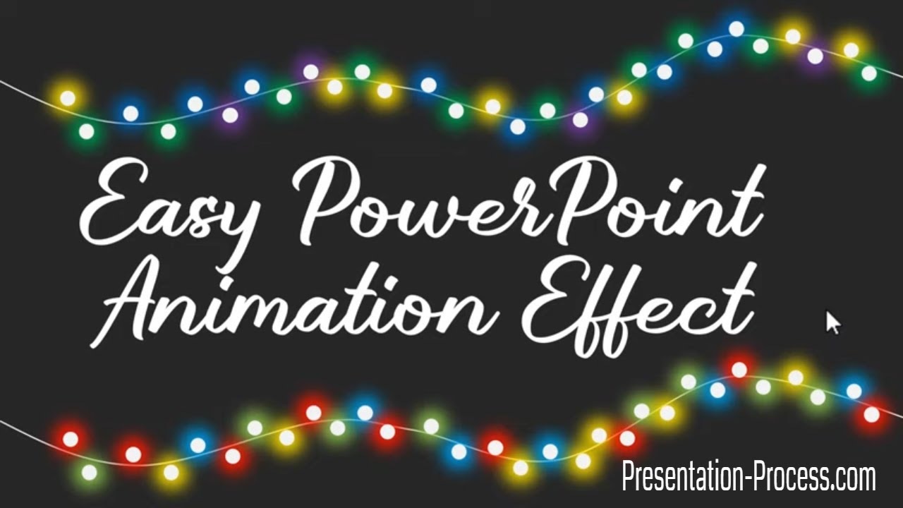 Easy PowerPoint Animation Effect