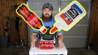 Can you use Coca-Cola as glue?