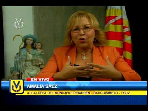Entrevista Venevisión: Amalia Saez, Alcaldesa Del Municipio Iribarren - Barquisimeto