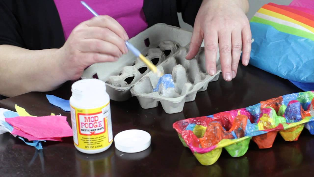 how to decorate egg box cartons egg decorating youtube