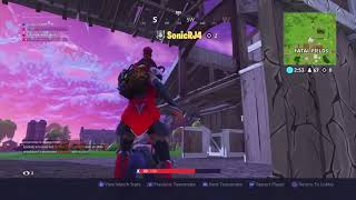 FortNite: Got us both with a grenade... xD