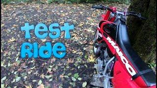 1997 Maico 500 Test Ride (Dirtbike Riding: S5 E15)
