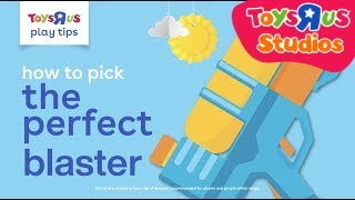 """How to pick the perfect blaster 
