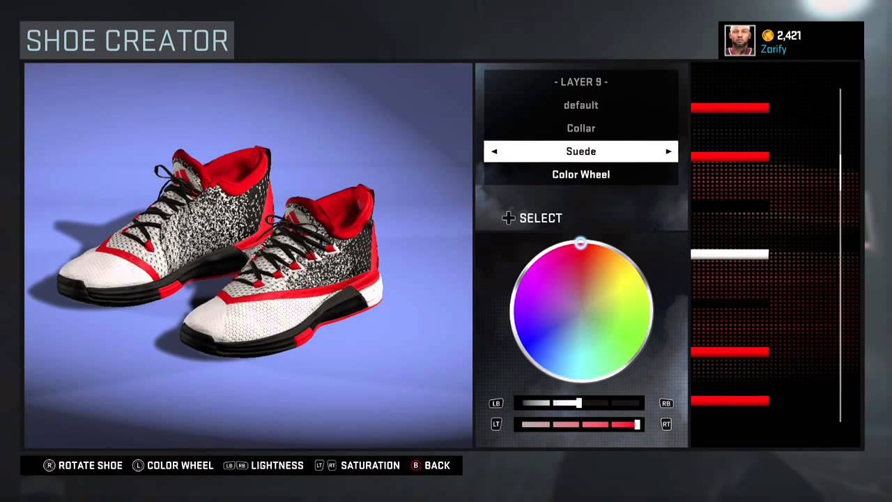 NBA 2K16 Shoe Creator - Adidas Crazylight Boost 2.5 PE