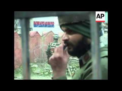 4:3 Major gunbattle near Kashmir border kills 17