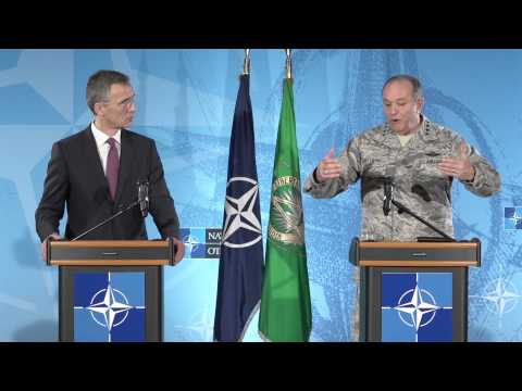 NATO SEC GEN and SACEUR Joint Press Conference