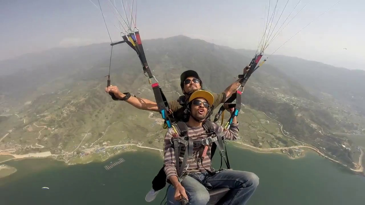 Acrobatic and Syncro  Paragliding NEPAL ACRO TEAM[NAT] / tandem flight 2018 Bi-golden3