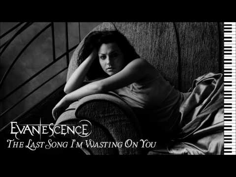 Evanescence - The Last Song I'm Wasting On You - Piano Instrumental