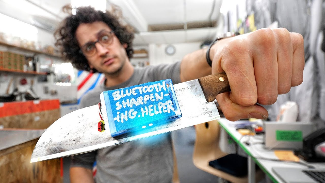 Knife Sharpening Angle Coach With Bluetooth & Arduino: 8 Steps (with