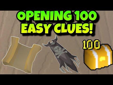 SOMETHING AMAZING HAPPENED!! OPENING 100 EASY CLUES- EPISODE 17- (OSRS)