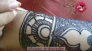 Unique Bridal Mehndi Design For Full Hands l Latest Mehndi Design #1000+