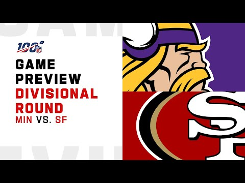 Minnesota Vikings Vs San Francisco 49ers Divisional Round Game Preview