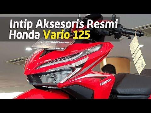 VLOG : Bikin Beda Honda Vario 125 mu dengan Aksesoris resmi