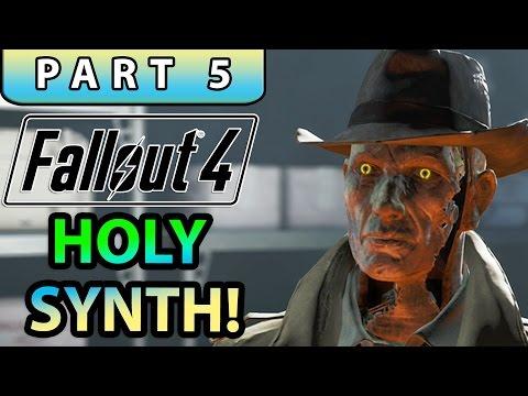 FALLOUT 4 Gameplay Walkthrough Part 5 - FIND VALENTINE!