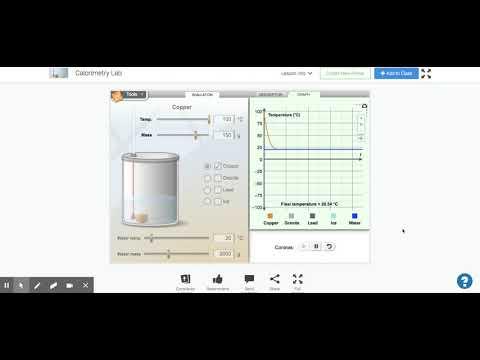Calorimetry Lab Gizmo : ExploreLearning - YouTube