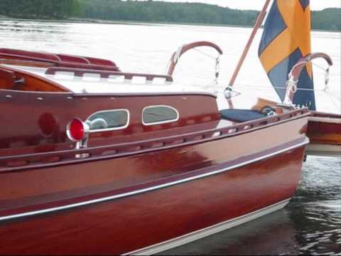 Classic Wooden Boat Cg Pettersson For Sale