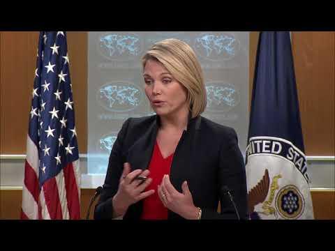 Department Press Briefing - April 10, 2018