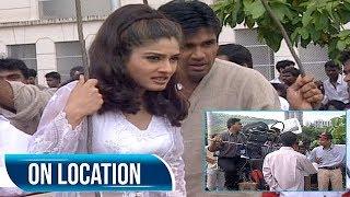 Ek Hindustani   On Location   Suniel Shetty   Raveena Tandon   Flashback Video