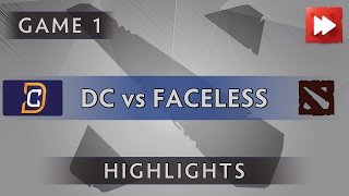 Digital Chaos vs Faceless [Game 1] Dota Pit League Season Five - Dota Highlights
