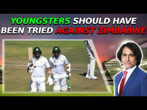 Ramiz Raja: Youngsters should have been tried against Zimbabwe | 2nd Test