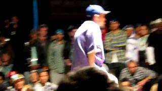 SDK 2009 male hiphop battle UK-winner vs Kento