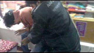 Mandi Dabwali, Chor in Cloth Shop.mp4