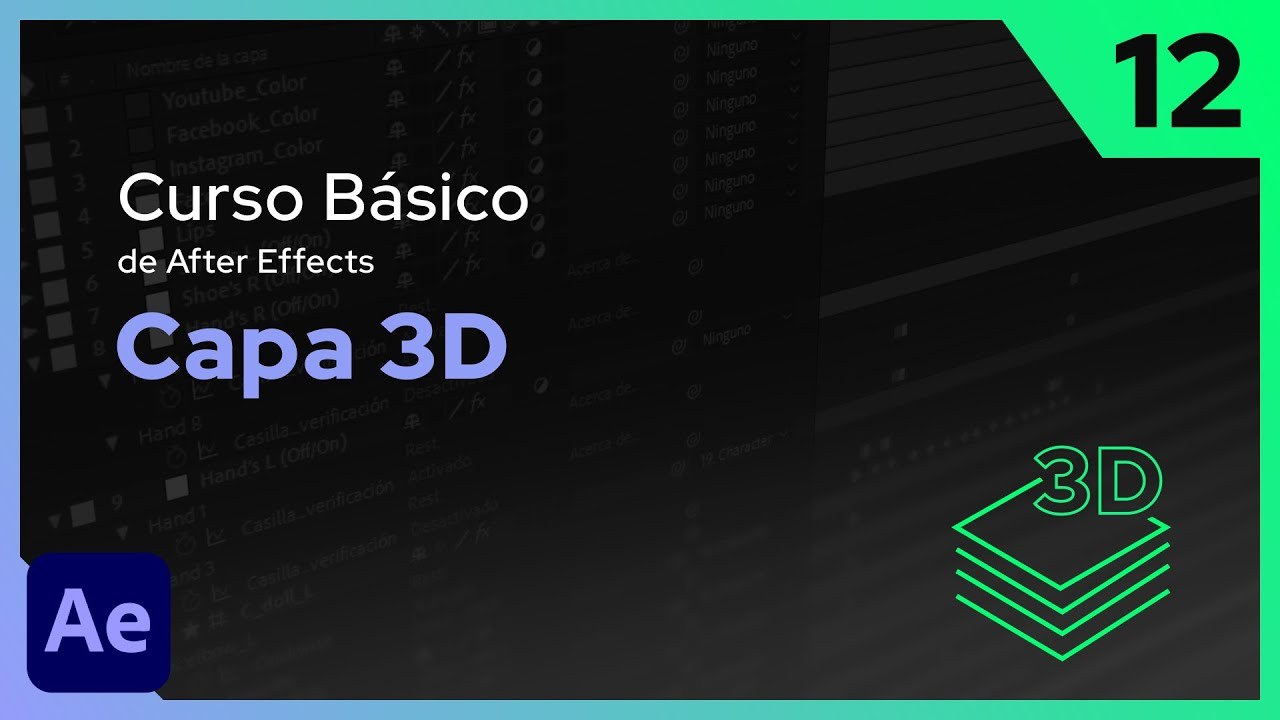 Capa 3D | After Effects - Tutorial