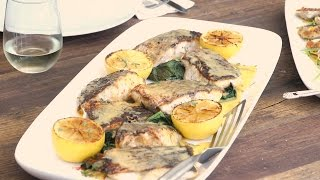 Lias Striped Bass Recipe