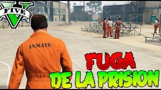 GTA V PC MODS LA EPICA FUGA DE LA PRISION !!! EN SIGILO XD GTA 5 MOD Makiman