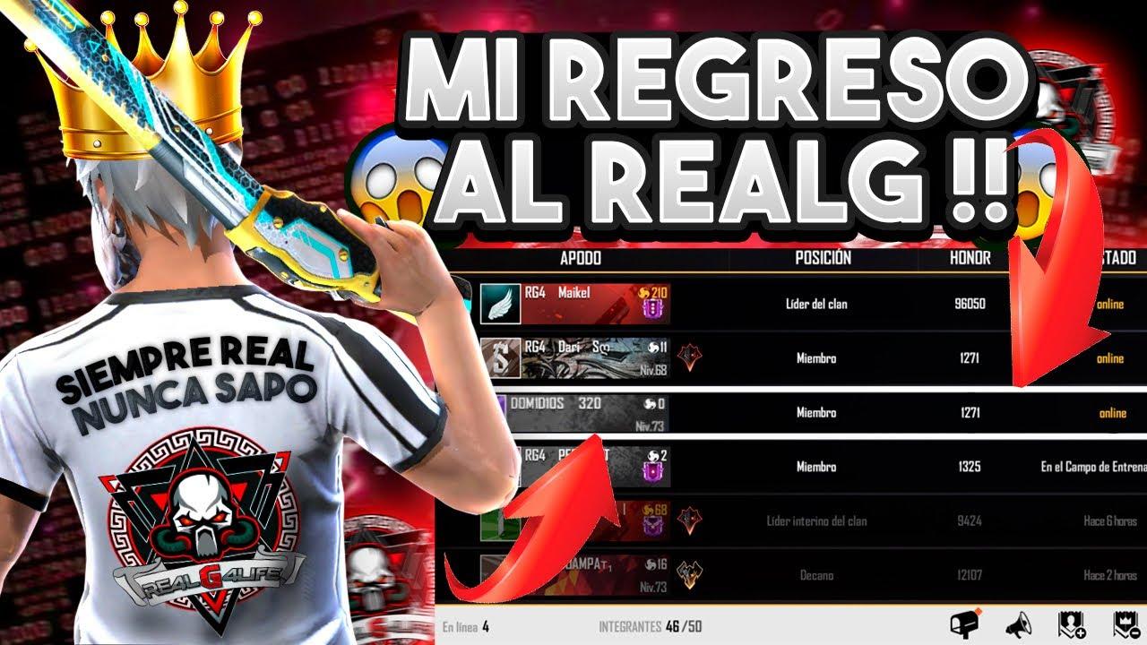 Download MI REGRESO al CLAN RE4LG4LIFE😍 ¡MAS INSANO que NUNCA👹! *PELÍCULA COMPLETA* RG4 DOMIDIOS🔥-freefire