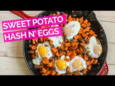 Bacon Sweet-Potato Hash