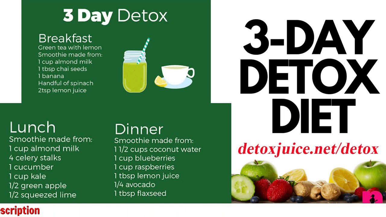 3 day detox diets weight loss